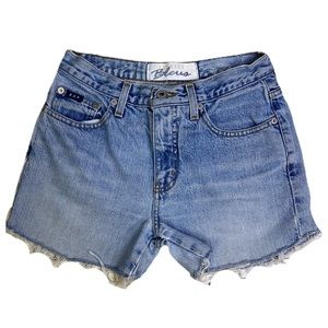 Vintage Express High Waisted Mom Jean Shorts